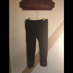 Champion leggings, sz xlarge, black, euc
